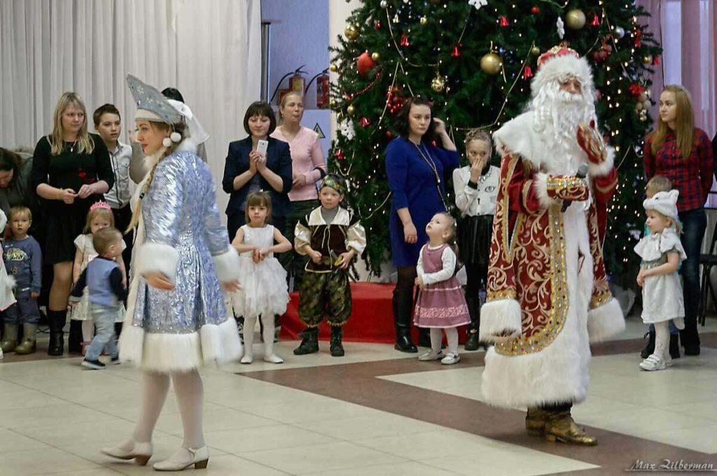 Рождественская елка в ДК Молодежи 08.01.2018 г.