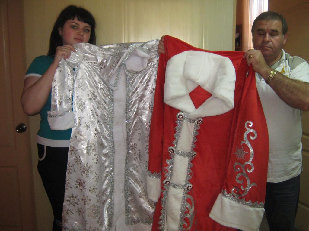 Новогодние костюмы для школы-интернат,